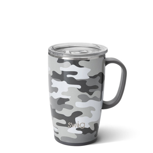 Swig 18 oz Insulated Mug- Camo