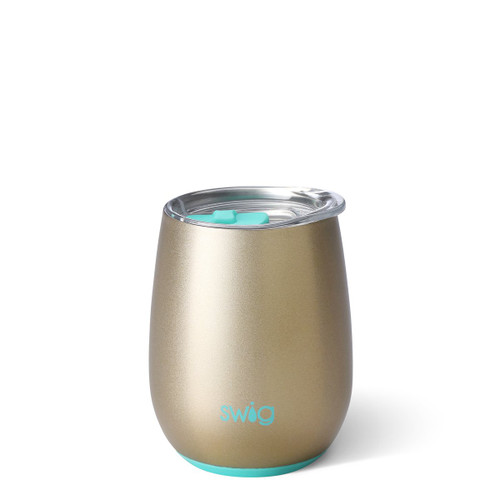 Swig Stemless Wine Cup- Champagne