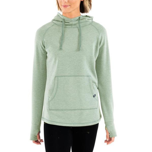 Free Fly Bamboo Fleece Pullover- Heather Marsh