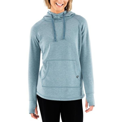 Free Fly Bamboo Fleece Pullover- Heather Marine