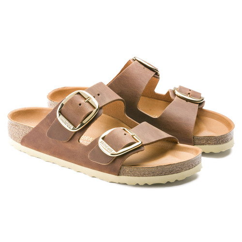 Birkenstock Arizona Big Buckle- Cognac
