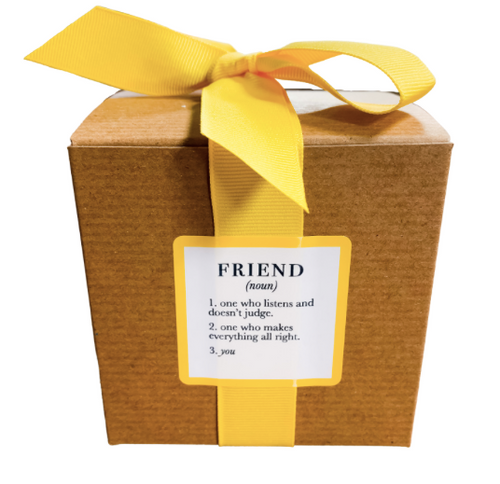 Ella B Friend Definition Candle