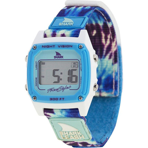 Freestyle Classic Leash Shark Watch- Tie Dye Blue Haze