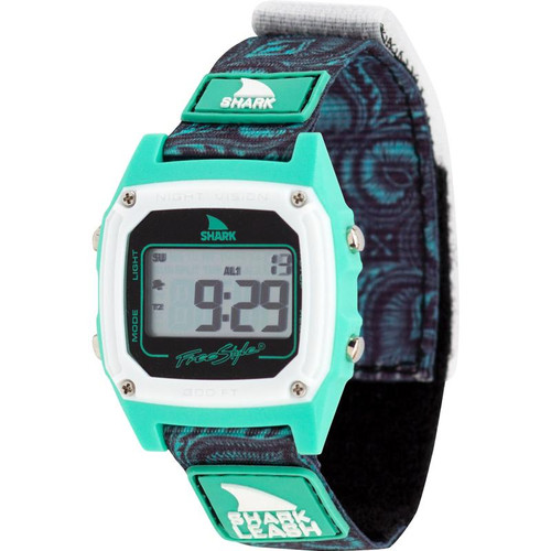 Freestyle Classic Leash Shark Watch Aloha- Tropical Mint