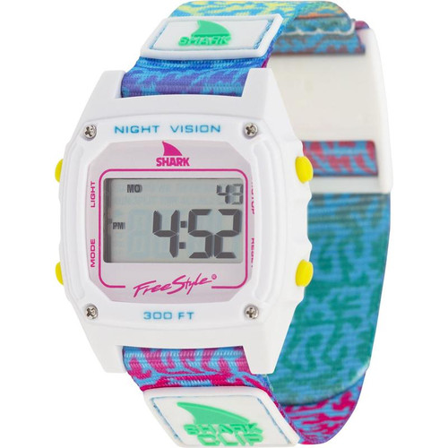 Freestyle Classic Clip Shark Watch-  Coral Rainbow