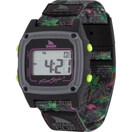 Freestyle Classic Clip Shark Watch- Flamingo After Dark