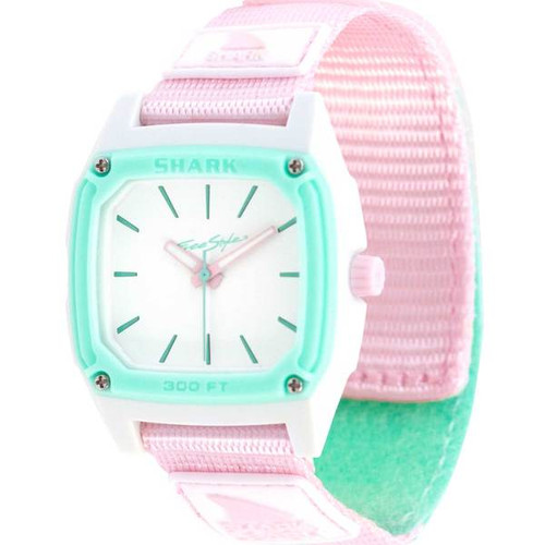 Freestyle Analog Classic Leash Shark Watch- Seafoam