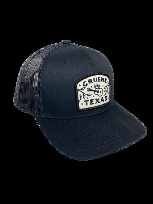 Gruene Texas Guitar Logo Hat - Black