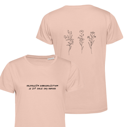 Najkrajšie Dobrodružstvo - Dámske Tričko