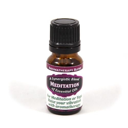 Meditation Essential Oil Blend - 9mL | Aromatherapy Synergy Oils