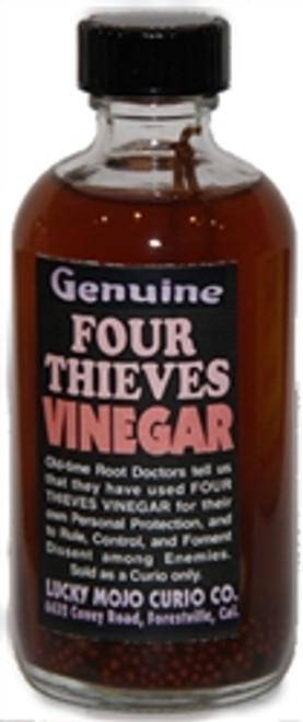 Lucky Mojo Four Thieves Vinegar - 4oz Bottle