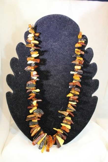 Chip Amber Necklace