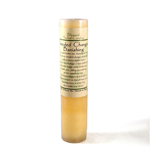 Needed Change Blessed Herbal Candle