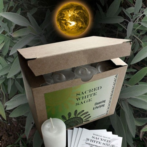 Sacred White Sage - Purifying Essential Oil Votive