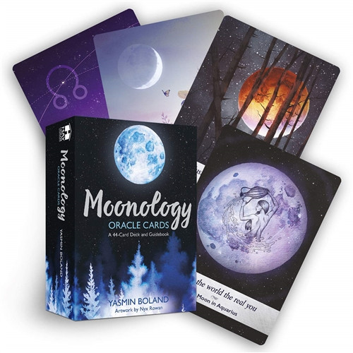 Moonology Oracle Cards by Yasmin Roland