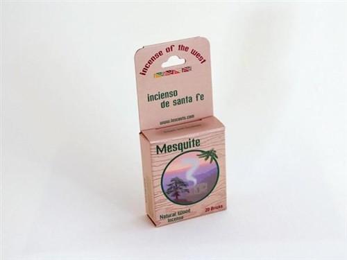 Natural Mesquite  Wood Incense Brick / Cone