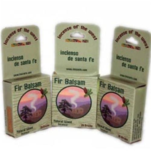 Natural Fir Balsam Wood Incense Brick / Cone