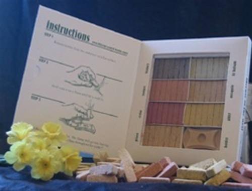 7 Scent Sampler Natural Wood Incense Brick / Cone