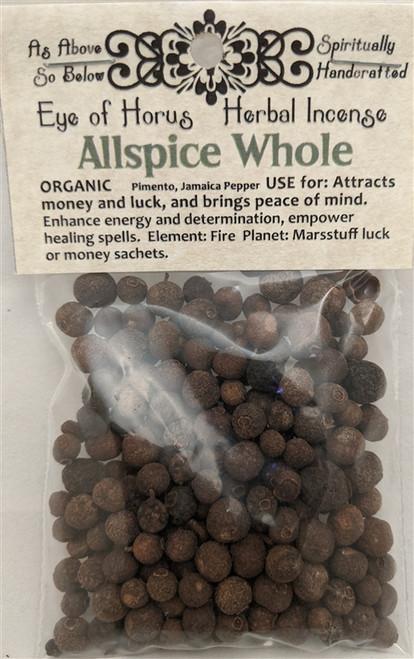 Allspice Whole Organic 20g bag