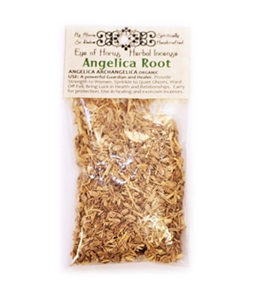 Angelica Root - Archangel Michael protection herb magic for mojo bag, incense spells and rituals Organic