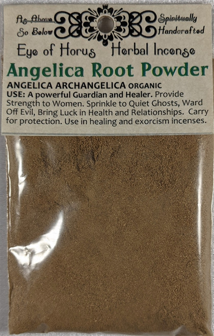Angelica Root Powder herbal incense