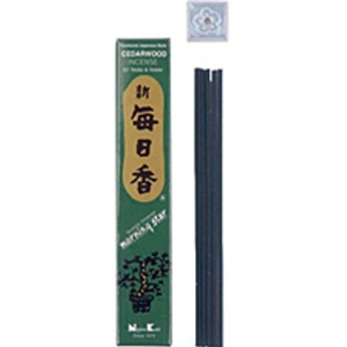 Cedarwood Incense - Morning Sta