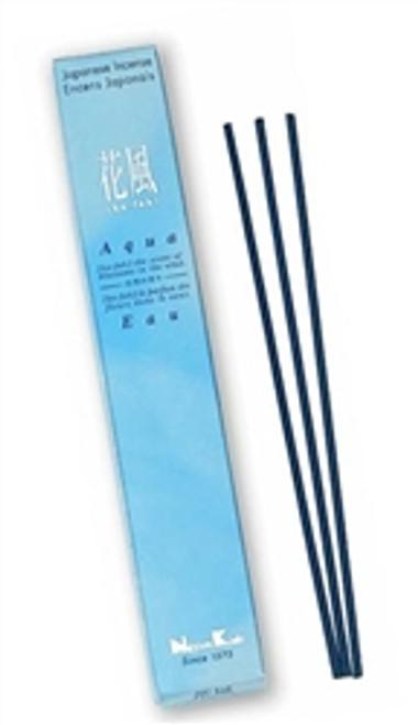 Aqua Japanese Incense [ ka-fuh ] Low Smoke