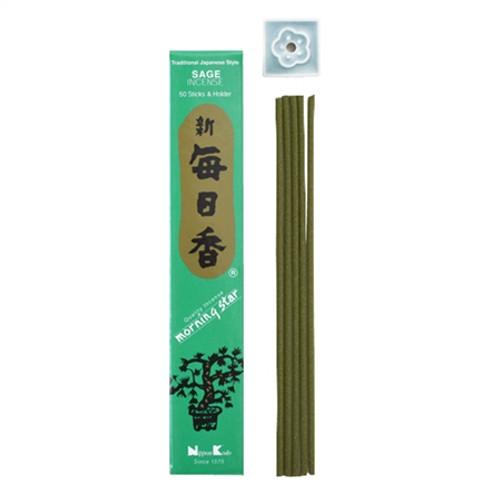 Sage Incense - Morning Star - Japan - Nippon Kodo