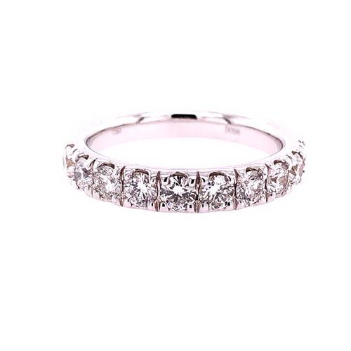 Large Diamond Curve Band