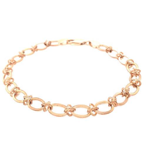 Barbed Gold Bracelet