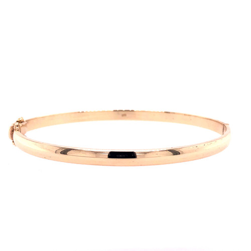 4MM Hinged Bangle