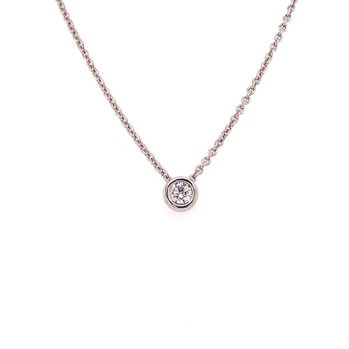 Diamond Slider Necklace - 0.11CT