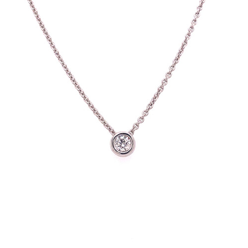 Diamond Slider Necklace - 0.17CT