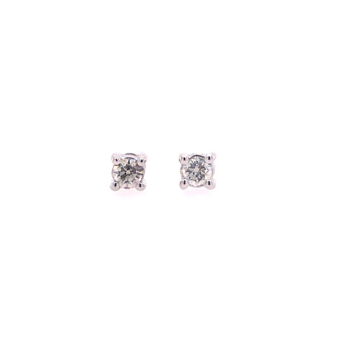 Diamond Studs - 0.10CT TDW