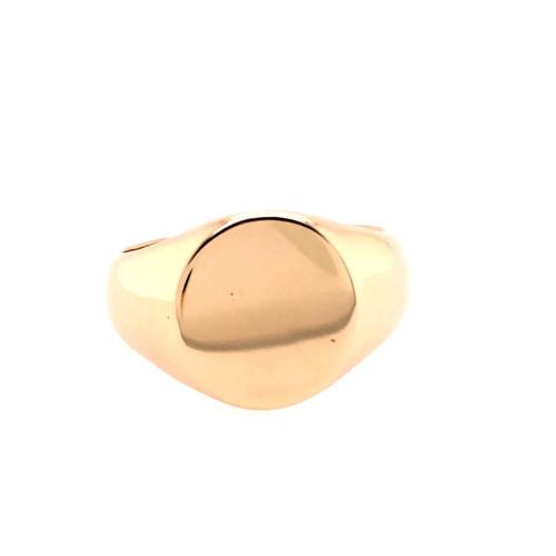 Mens Classic Signet Ring
