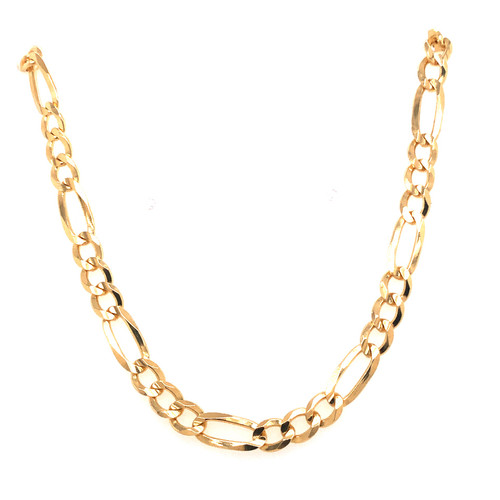Italian Gold Plated Figaro Chain 60CM