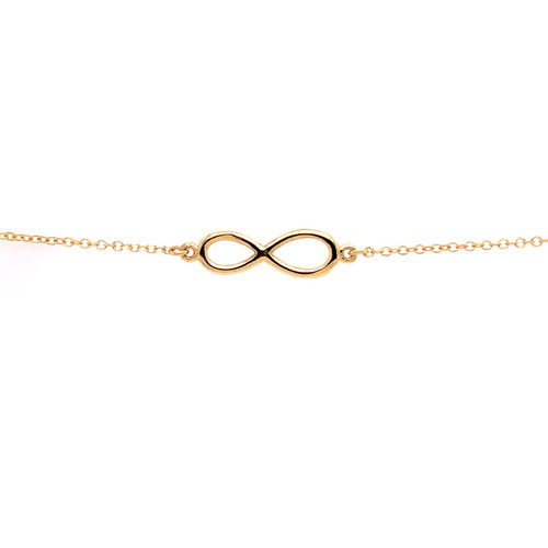 Infinity Bracelet - Yellow Gold