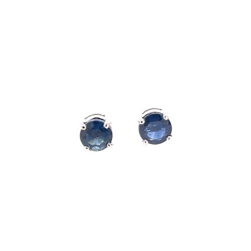 Sapphire Studs - White Gold
