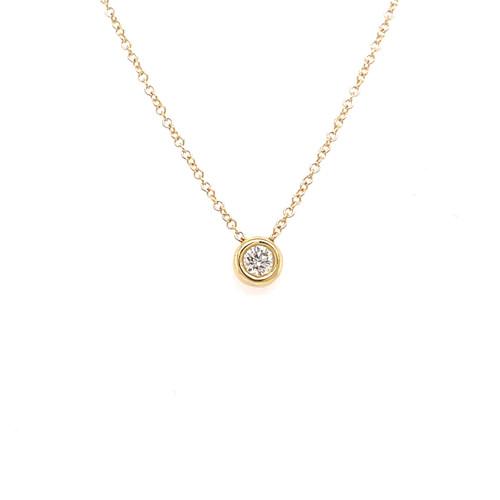 Diamond Slider Necklace - 0.20CT