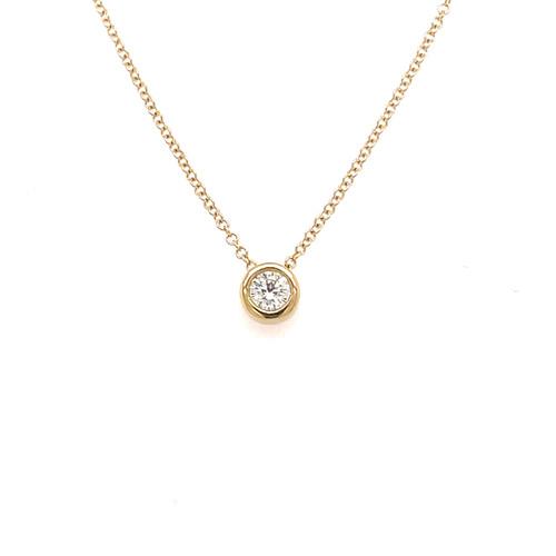 Diamond Slider Necklace - 0.27CT