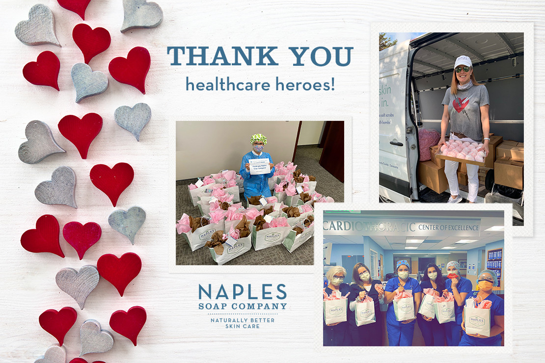 Naples Soap Donates Comfort Care Kits to Local Healthcare Workers