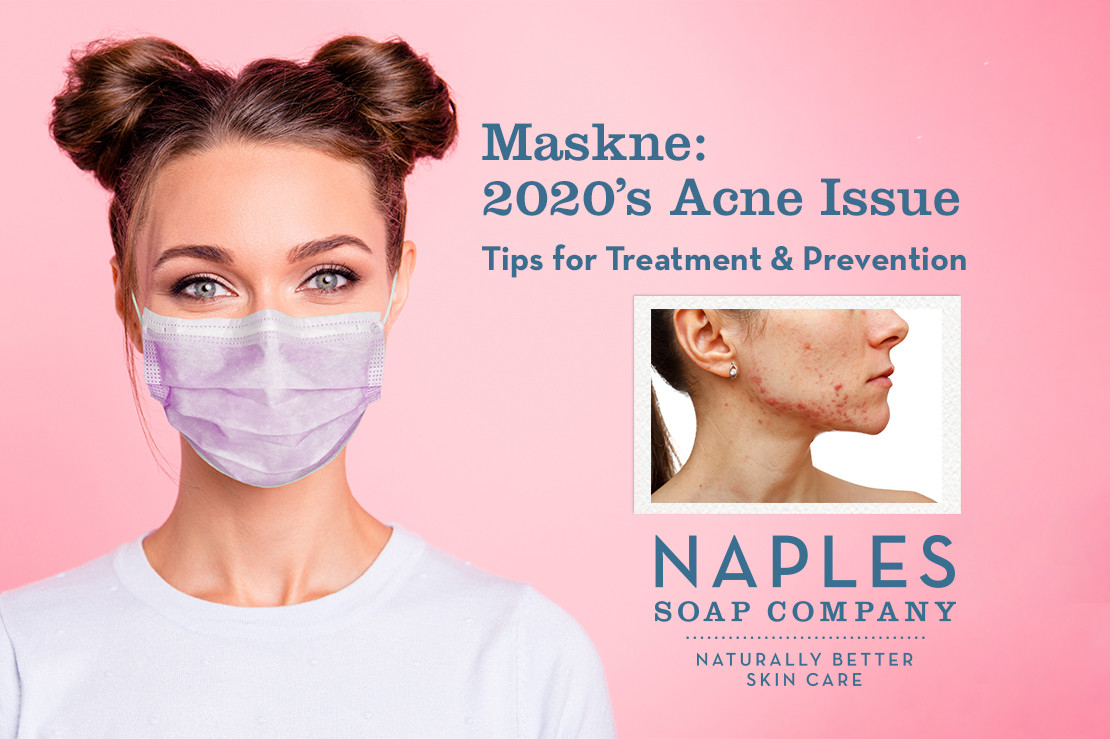 Maskne: Blemishes and Breakouts Behind the Mask