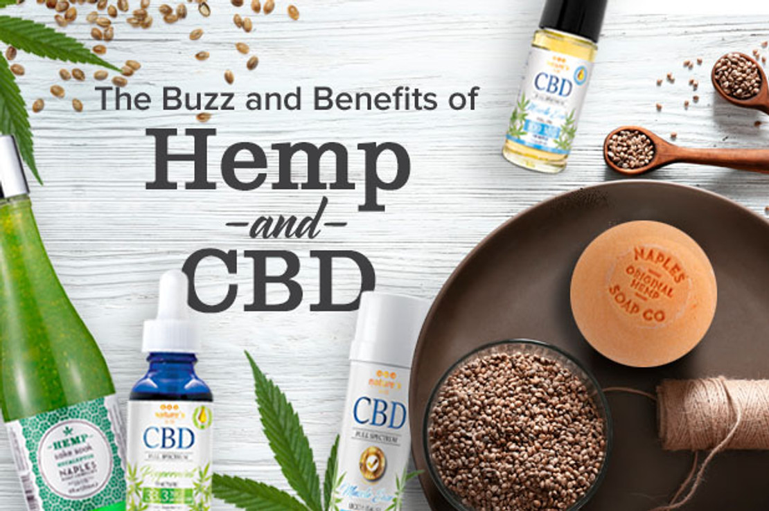 The Buzz and Benefits of CBD and Hemp