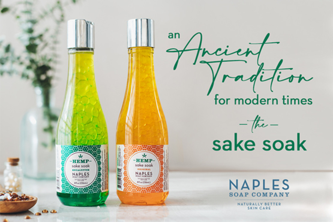 Take a Soak in Sake??? Yes, Please!