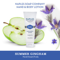 Summer Gingham Hand & Body Lotion 3.4 oz Description