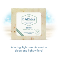 Beach Sea Salt Soap Short Description