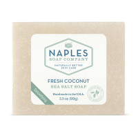 Fresh Coconut Sea Salt Soap