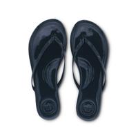 Flip Flops Navy Patent Top