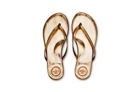 Flip Flops Gold Top