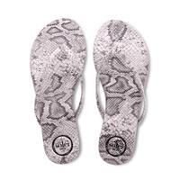 Flip Flops Python Grey Top
